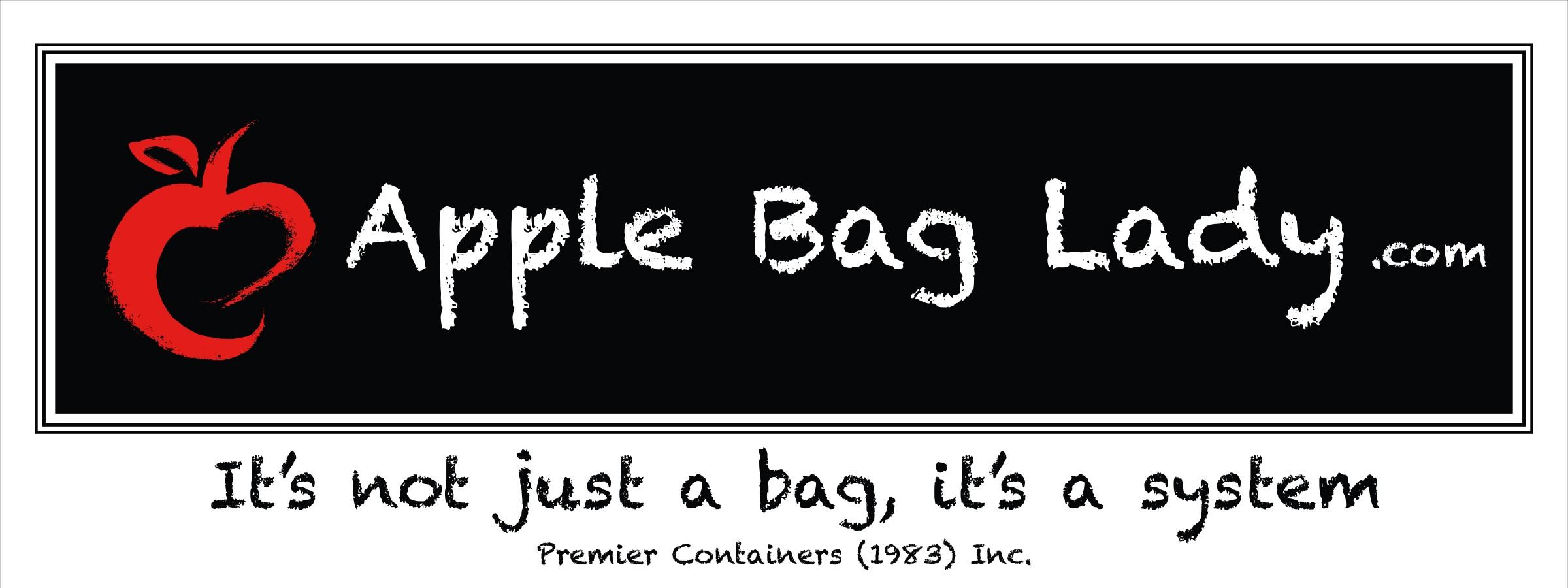 Apple Bag Lady Logo